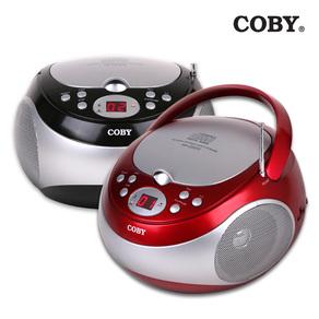 코비 포터블 CD 플레이어 MP-CD371, MP-CD371, 레드